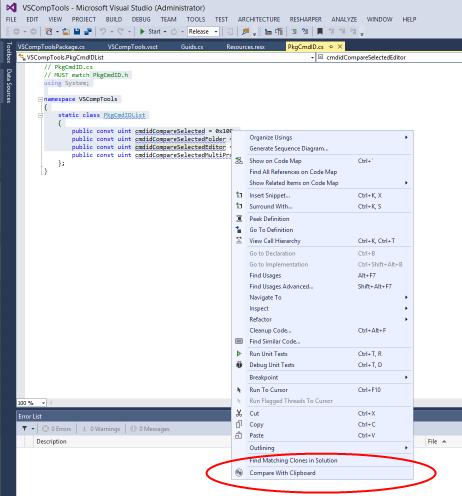 Visual Studio Comparison Tools - Visual Studio Marketplace